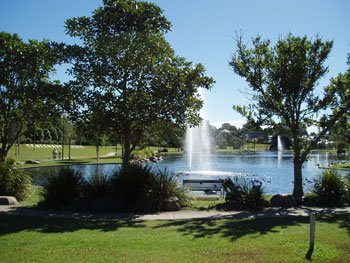 Centenary Park Caboolture, just one of Brisbane Parks