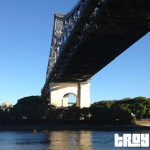 City Hopper Ferry under the Story Bridge