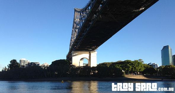 City Hopper Ferry under the Story Bridge