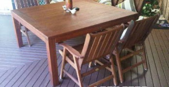 How to buy a Wooden Outdoor Timber Setting in Brisbane