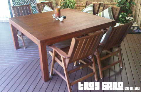 How To Buy A Wooden Outdoor Timber Setting In Brisbane Troy Spro