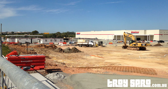 Brisbane Costco Construction