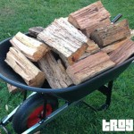 Firewood supplies for our winter have arrived
