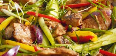 Hoisin Chicken Stir Fry, a Healthy Eating Recipe