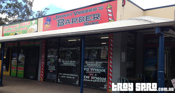 Johnny Voodoo Barber Shop Brisbane