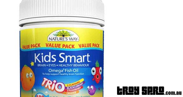Kids smart omega3 fish oil children s fish oil by nature for Kids fish oil
