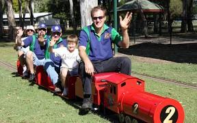 Miniature Trains at McPherson Park