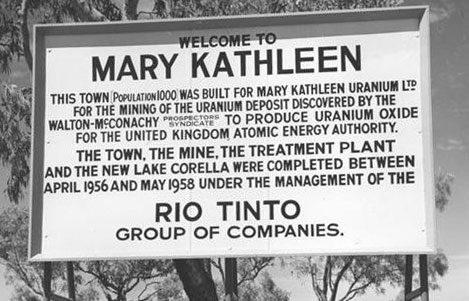 Mary Kathleen, Mining towns in Queensland
