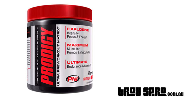 Prodigy Pre Workout by PNI Supplements