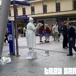 Is Queen Street Mall turning into La Rambla in Barcelona?