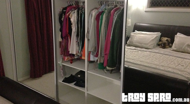 Wardrobe Renovations, renovation finished and completed on time