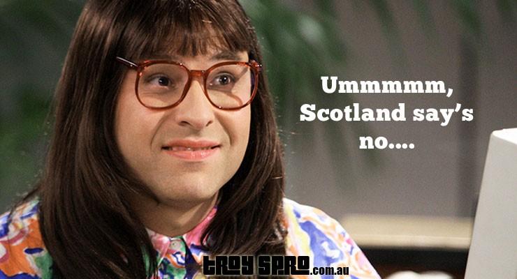 Scotland says No