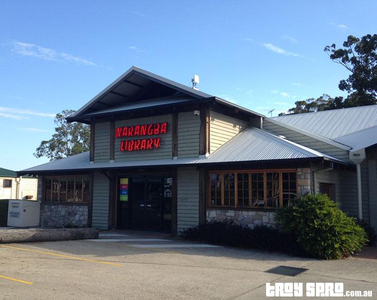 Narangba Library Brisbane closing