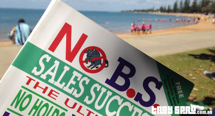 No BS Sales Success Book Reading