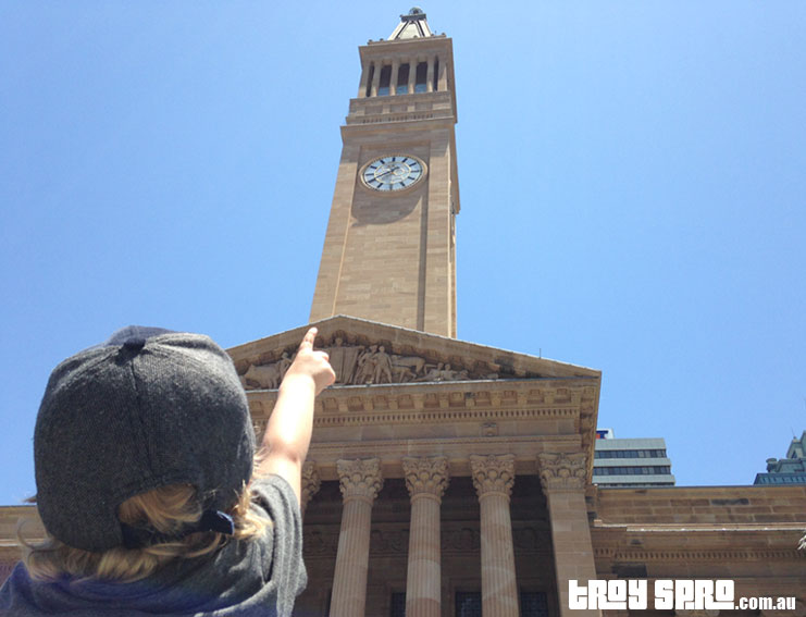 G20 King George Square Clock Tower