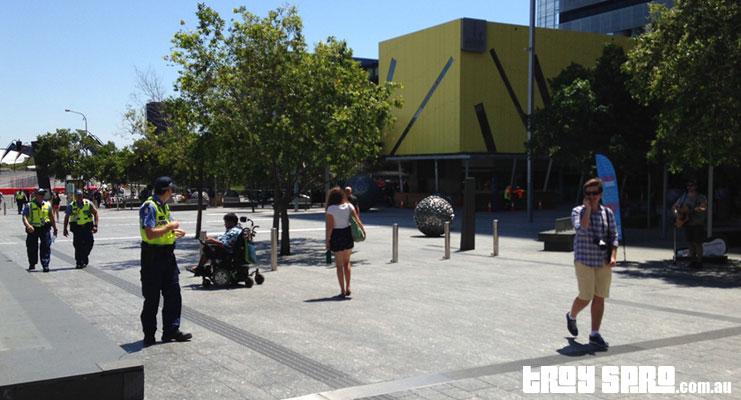 G20 Weekend Brisbane City Queen Street Mall Treasury Casino
