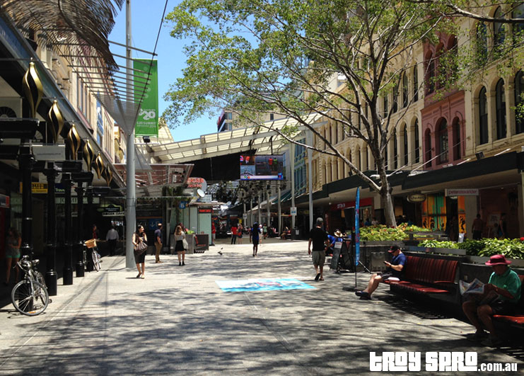 Brisbane City G20 Queen Street Mall