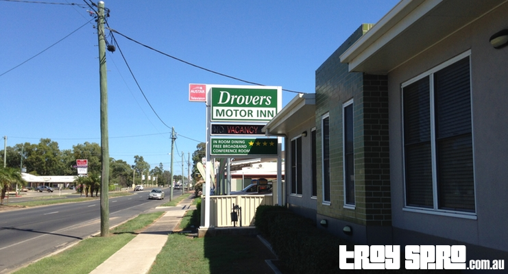 Drovers Motor Inn Dalby Travel Holiday Hotel Motel