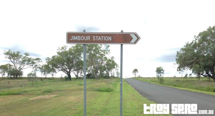 Jimbour Station Road Sign