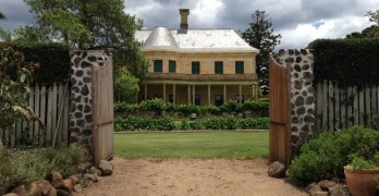 Jimbour Heritage House and Gardens, we made it!