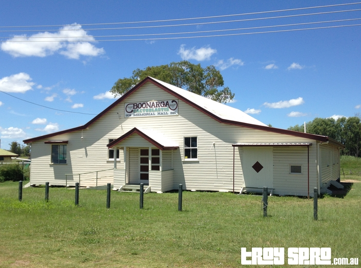 Boonarga Cactoblastis Memorial Hall in Queensland