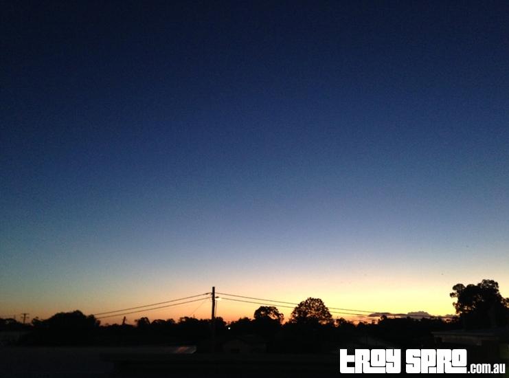 Dalby Sunset in Dalby, Queensland, Australia