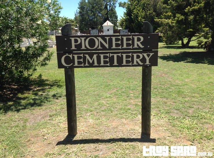 Pioneer Cemetery in Chinchilla