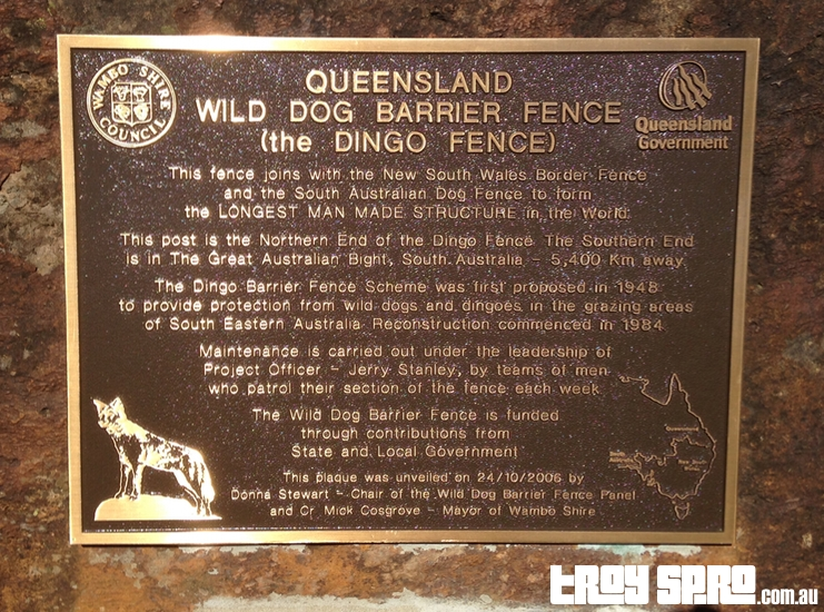Queensland Wild Dog Barrier Fence - Dingo Fence