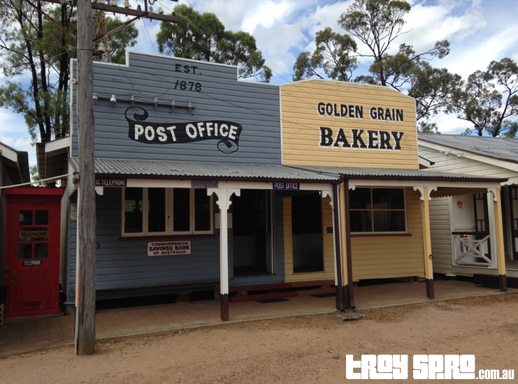 Post Office and Bakery Miles Historical Village Museum