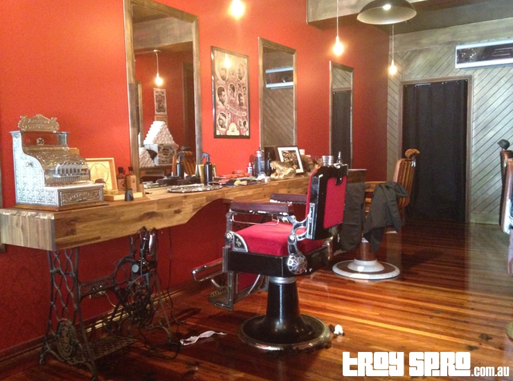 The Moustachery New Farm Barber Shop in Brisbane