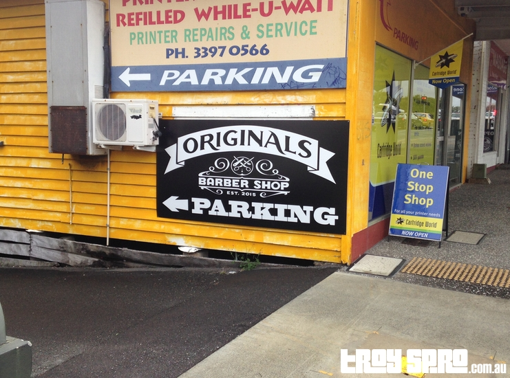 Originals Barber Shop Parking