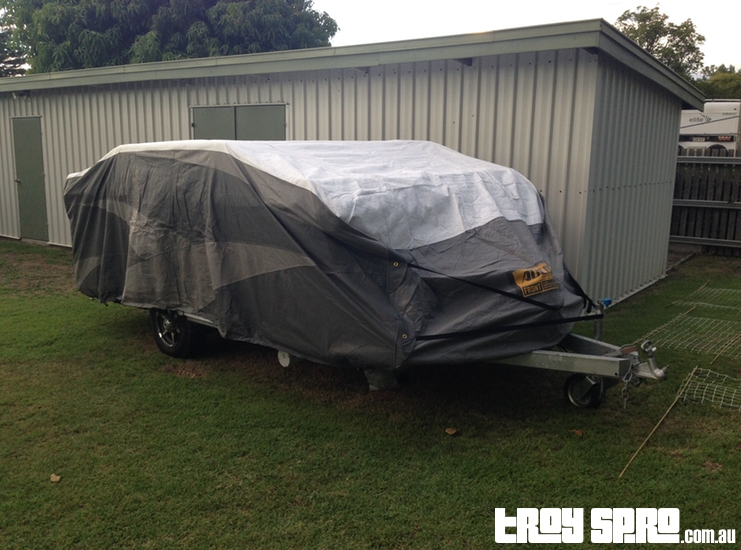 ADCO Camper Trailer Cover for Jayco Caravans