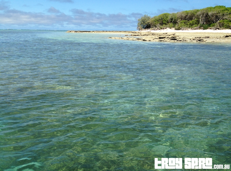 Leaving Lady Musgrave Island on the Glass Bottom Boat