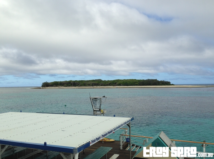 View from Lady Musgrave Cruises Boat