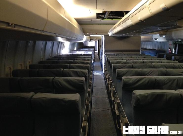 Inside Qantas Boeing 747 Qantas Founders Museum Longreach