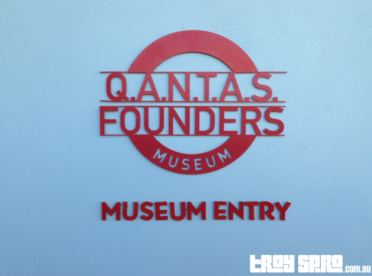 Qantas Founders Museum Entry Longreach Queensland