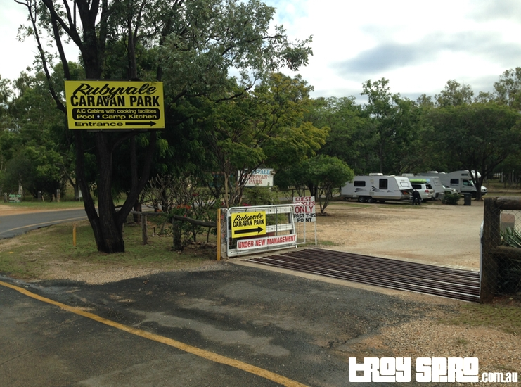 Rubyvale Caravan Park in Queensland