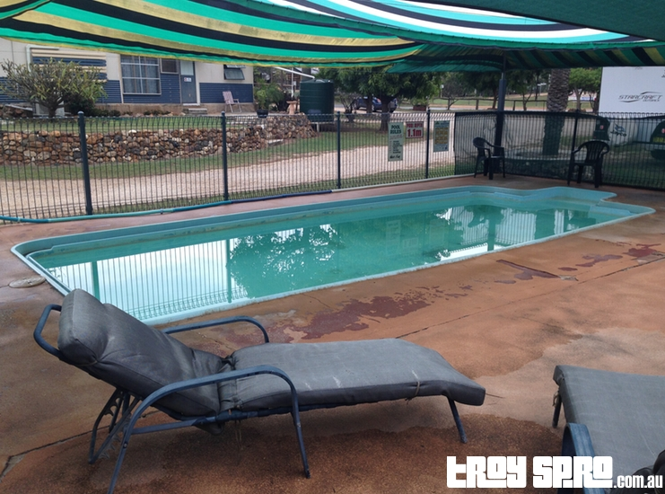 Swimming Pool at Rubyvale Caravan Park Queensland