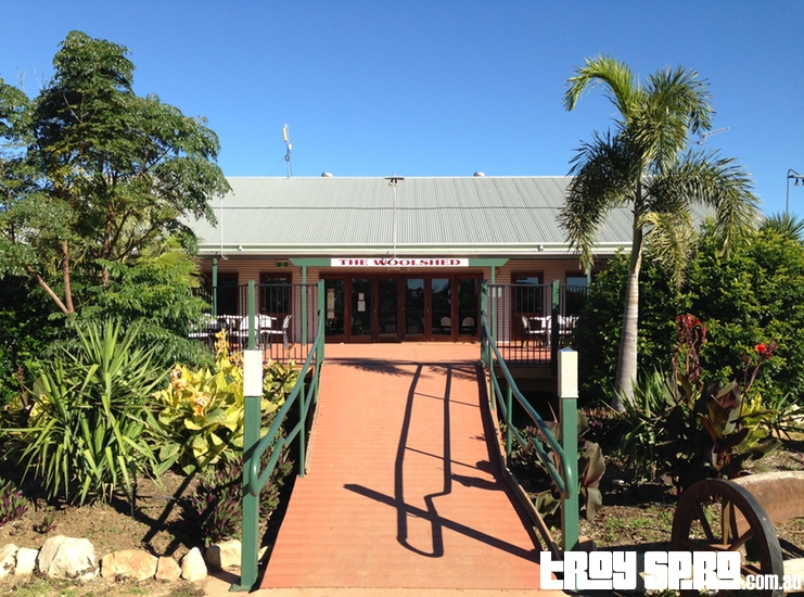 The Woolshed Restaurant Longreach Tourist Park Queensland