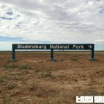 Bladensberg National Park Queensland Entry Sign