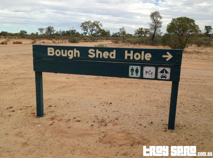 Bough Shed Hole at Bladensberg National Park Winton Queensland