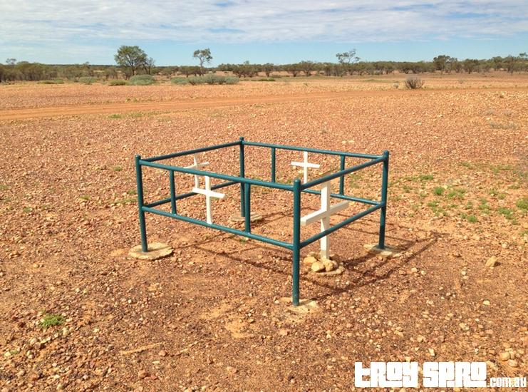 Delia Dalrymple Grave Site 1884 in Bladensberg National Park Queensland