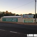 Mount Isa Caravan Park, we made it!