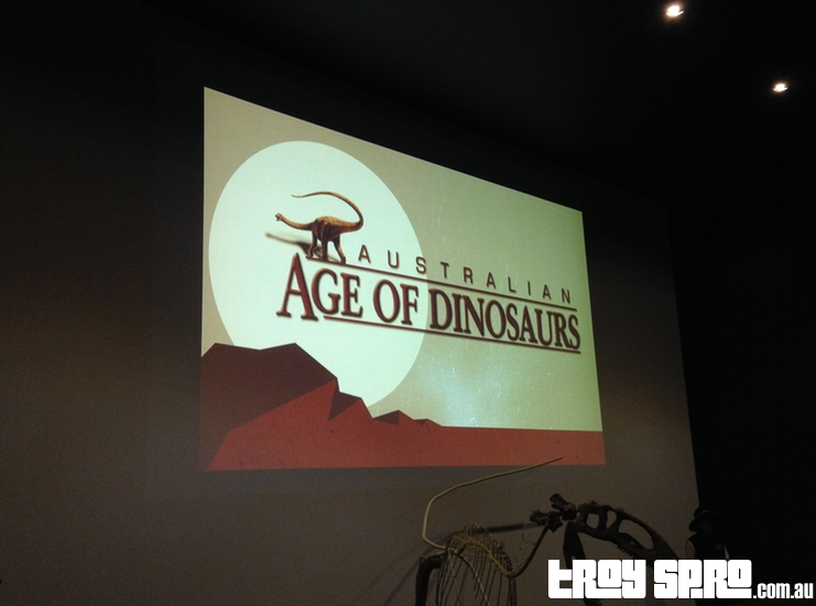 Movie Time at Age of Dinosaurs Winton