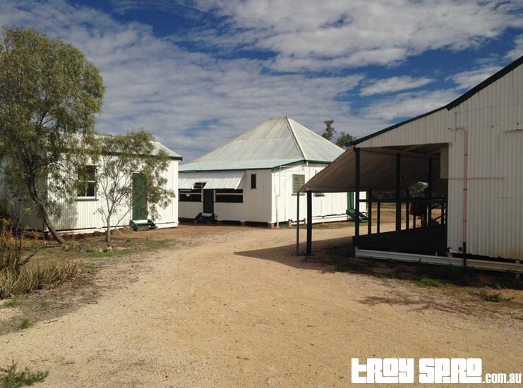 Surrounding Buildings at Bladensberg Homestead in Bladensberg National Park Winton Queensland