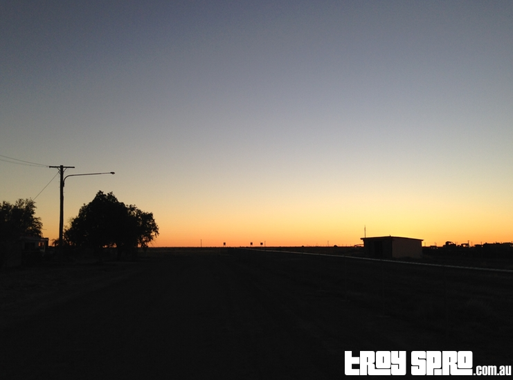 Winton Sunset Queensland Outback Travel
