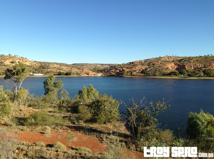 Lookout View of Lake Moondarra