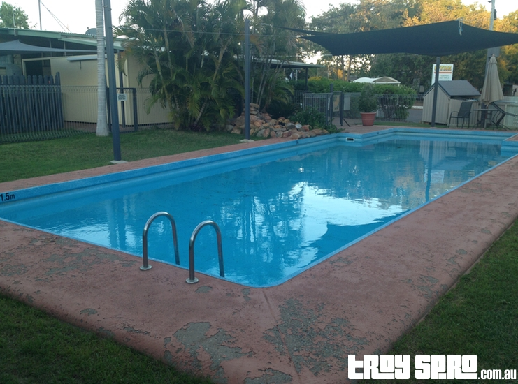 Mount Isa Caravan Park Swimming Pool