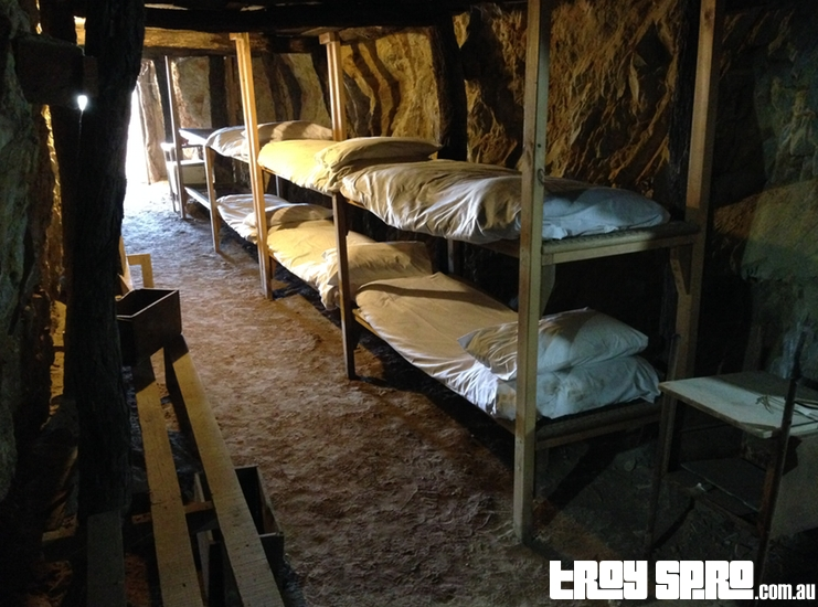 Beds in the Underground Hospital