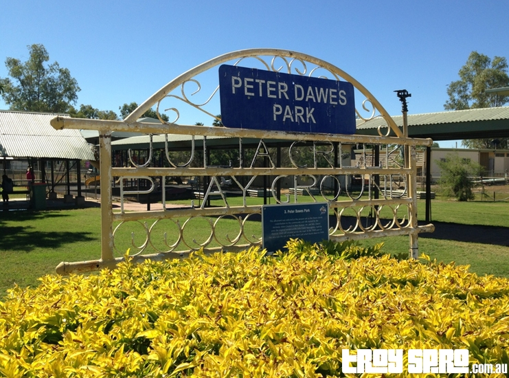 Peter Dawes Park in Julia Creek